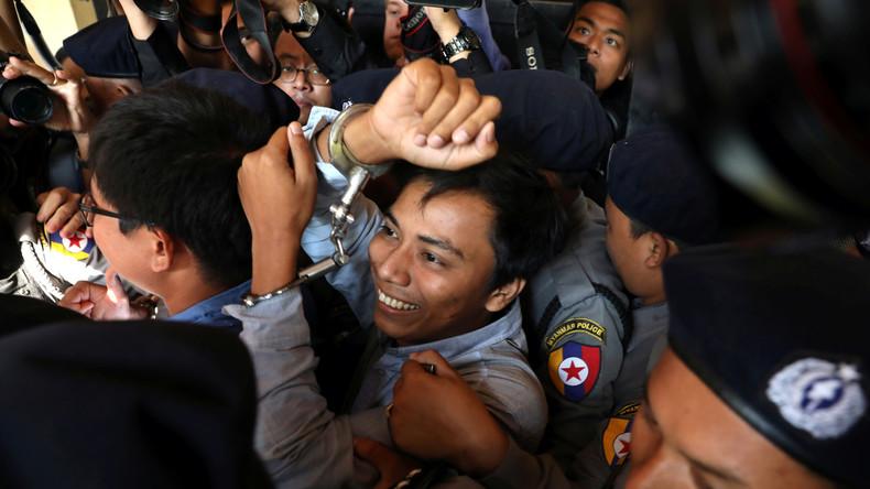Reuters-Journalisten angeklagt wegen Besitz von geheimen Staatsdokumenten