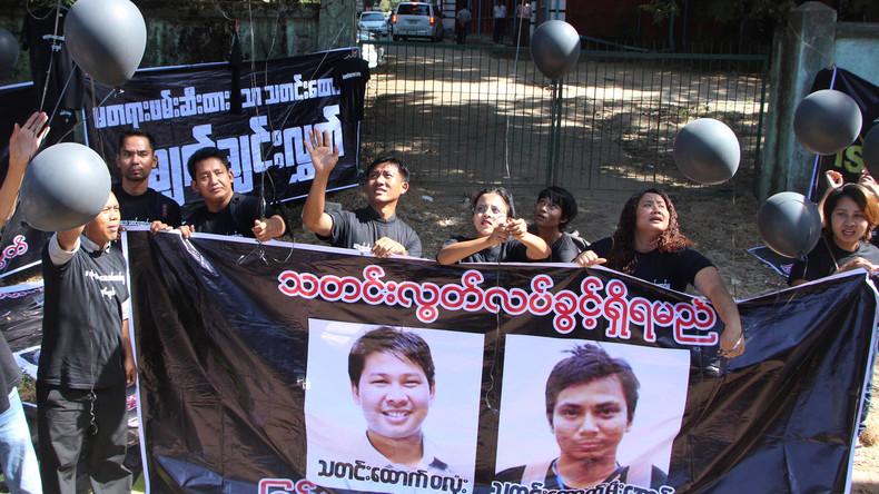 Gericht lässt Staatsgeheimnis-Anklage gegen Reuters-Reporter in Myanmar zu