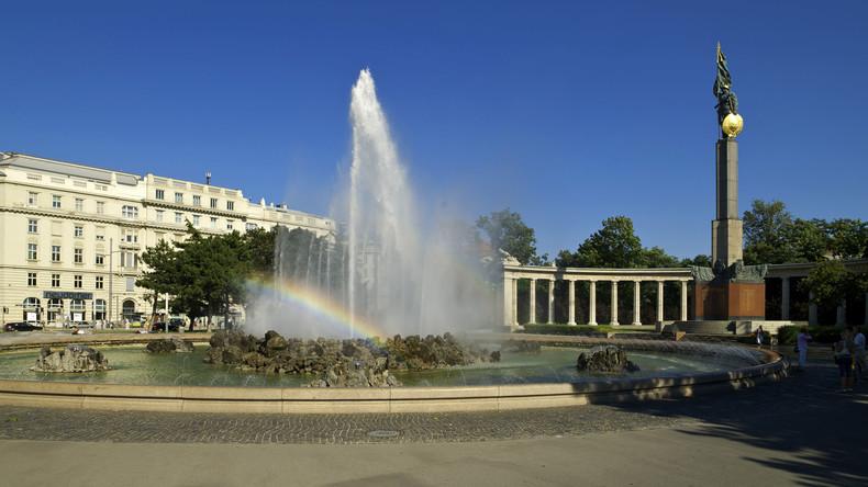 Wien: Heldendenkmal der Roten Armee erneut geschändet