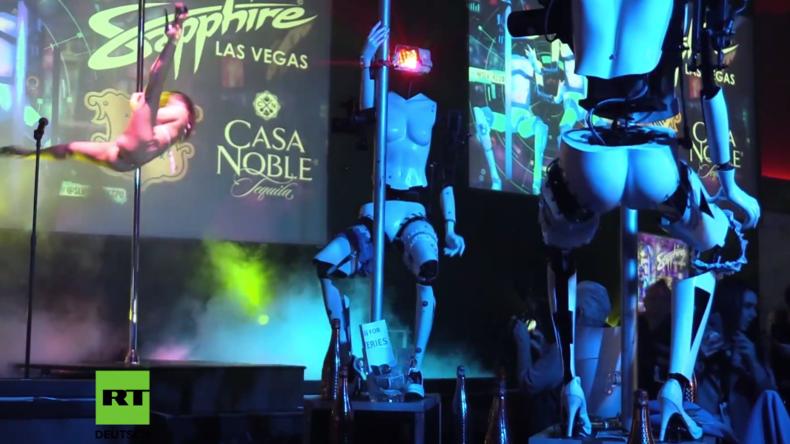 Sexy Digitalisierung? Roboter präsentieren Strip-Show in Las Vegas
