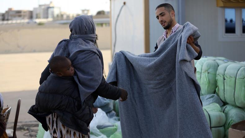 Libyens Küstenwache meldet bis zu 100 Flüchtlinge als vermisst