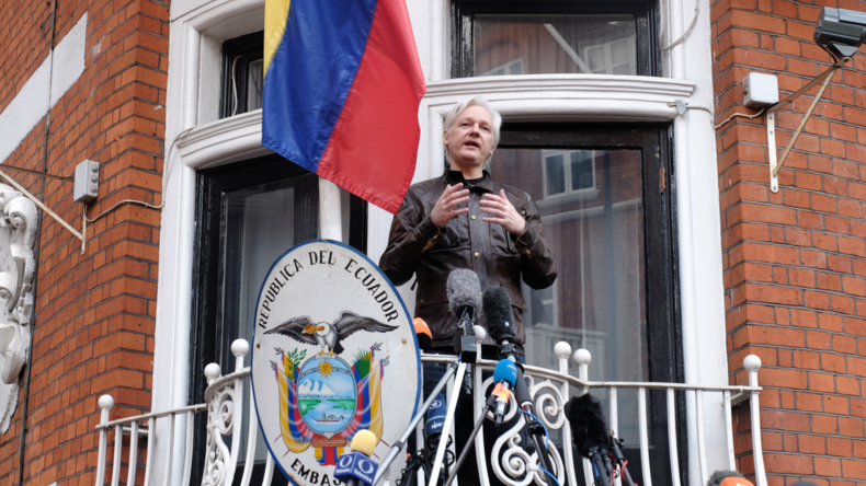 Julian Assange ist jetzt Staatsbürger von Ecuador
