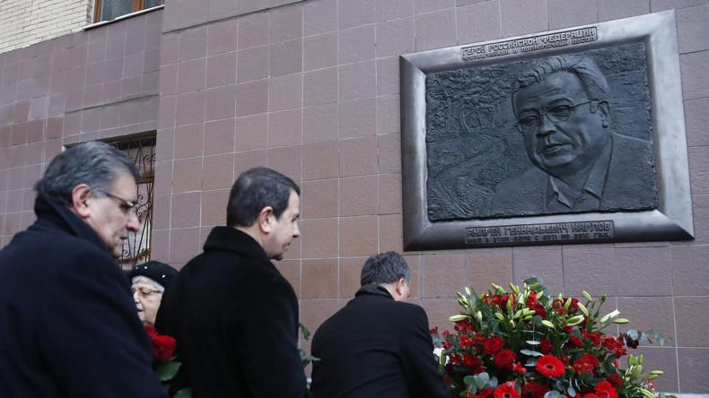 Bericht: Mutmaßlicher Beteiligter am Mord am russischen Botschafter Karlow in Türkei festgenommen
