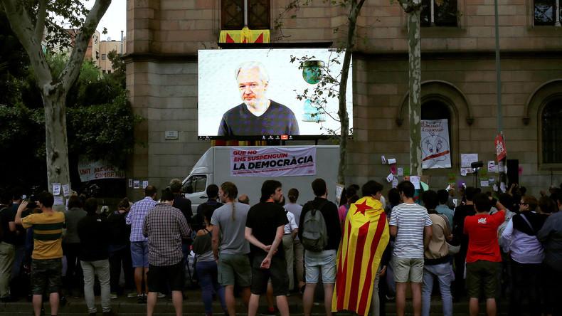Britisches Außenministerium lehnt diplomatische Immunität für Julian Assange ab [Video]