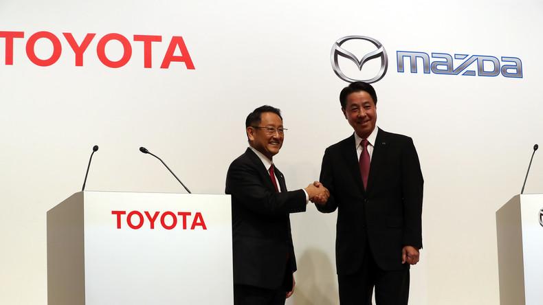 Toyota und Mazda bauen 1,6 Milliarden teures US-Werk in Alabama