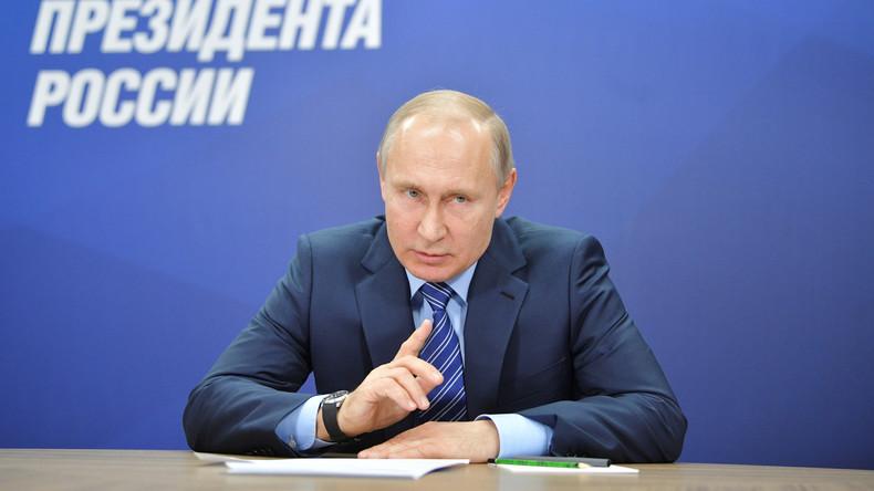 LIVE ab 17.30 Uhr: Putin hält Fragestunde mit Journalisten in Moskau