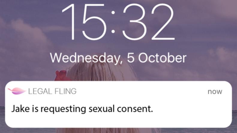 Verrückt oder benötigt? Neue App verdeutlicht Einwilligung zu Sex und liefert Beweise vor Gericht