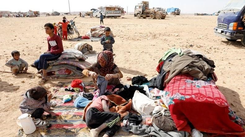 Moskau: USA haben de facto einen Teil Syriens okkupiert und behindern humanitäre Hilfe dorthin