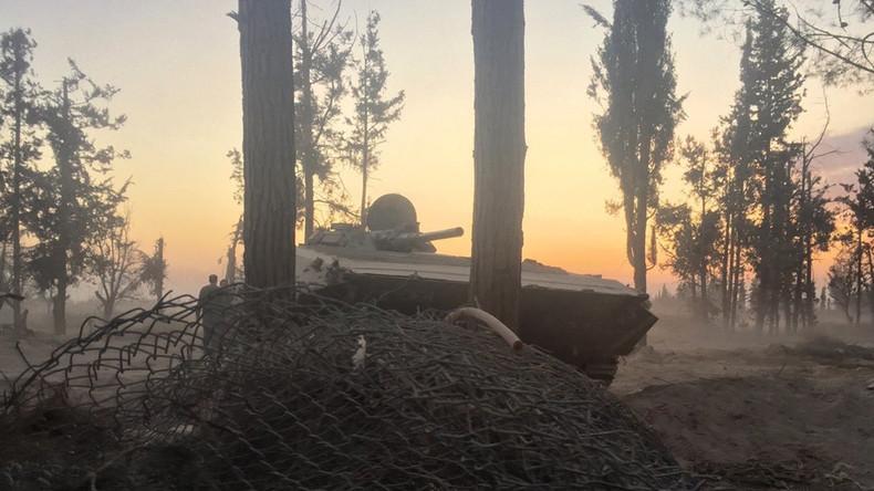 Moskau: Gruppe, die unsere Luftwaffenbasis in Syrien angegriffen hatte, wurde eliminiert [Videos]
