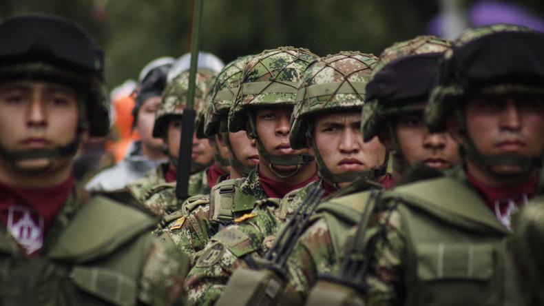 9.000 Soldaten an Kolumbiens Grenze mit Ecuador stationiert