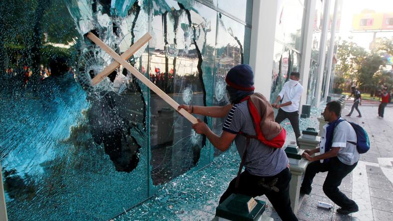 Schwere Krawalle bei Protesten gegen Regierung in Honduras
