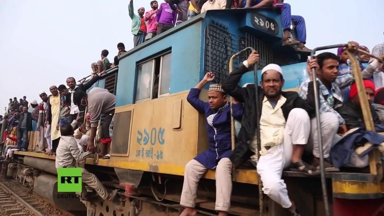 Bangladesch: Millionen besuchen das Gebetsfest Bishwa Ijtema in Tongi