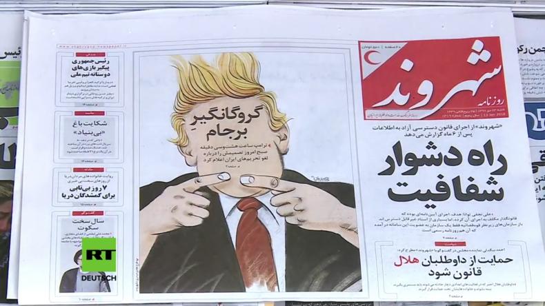 """Iraner reagieren auf Trumps """"letzte Chance"""" für das Nuklearabkommen"""