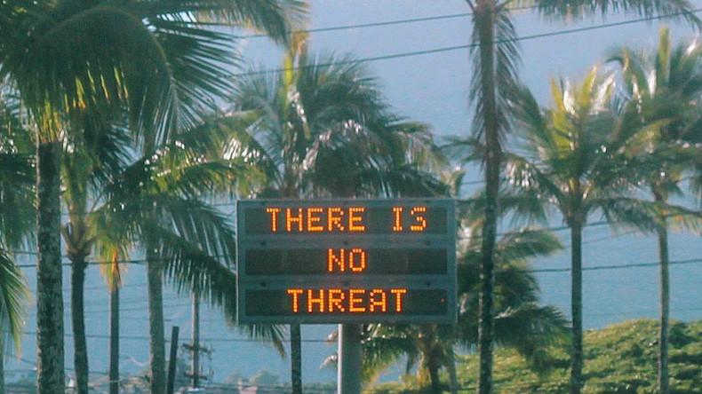 Falscher Raketenalarm erschreckt Menschen in Hawaii