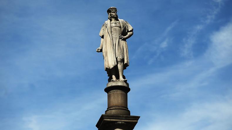 New Yorks Bürgermeister: Kolumbus-Statue darf bleiben