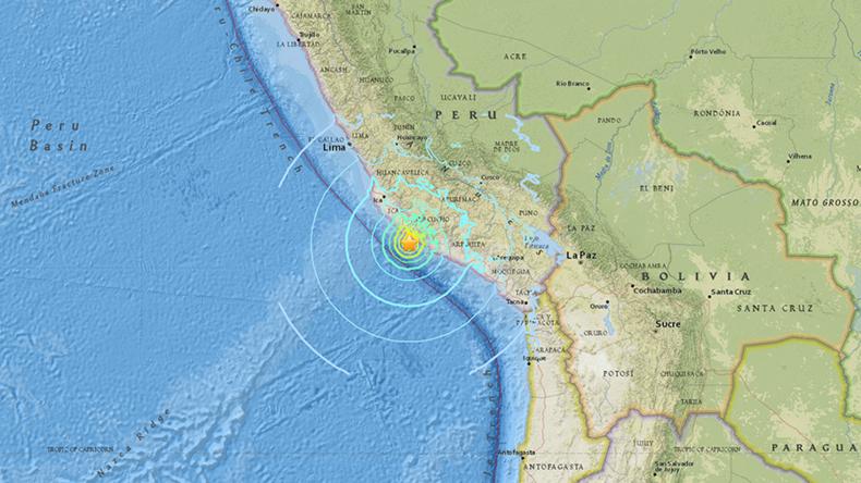 Mindestens zwei Tote und 60 Verletzte bei Erdbeben in Peru