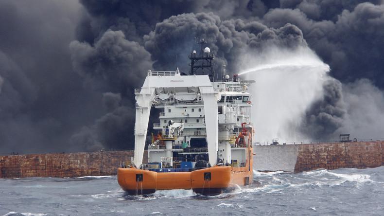Iranisches Ministerium: Alle 30 Iraner auf Öltanker vor China tot