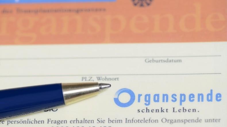 Organspenderzahlen in Deutschland erreichen Tiefstand seit 20 Jahren