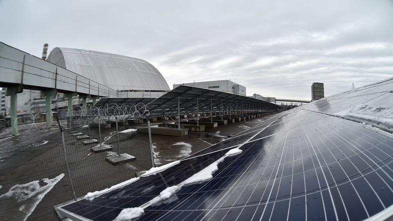 Neue Chance für Tschernobyl-Ödland: Stillgelegtes Kernkraftwerk in Solaranlage verwandelt