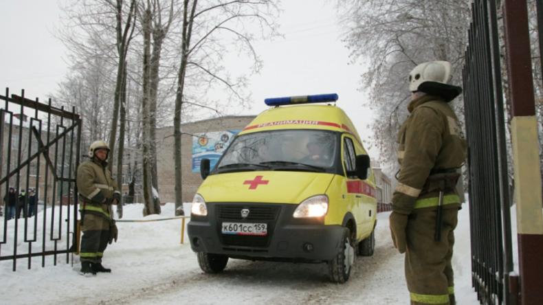 13 Verletzte bei einer Messer-Attacke in einer russischen Schule