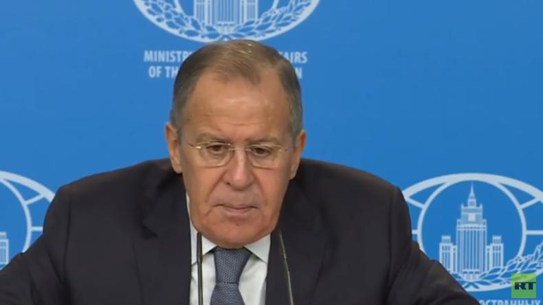 LIVE: Lawrow berichtet über die russische Diplomatie 2017 auf der Jahrespressekonferenz