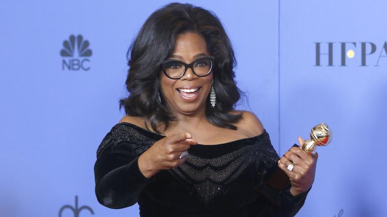 Umfrage: Oprah Winfrey würde bei Präsidentschaftswahlen mehr Stimmen sammeln als Donald Trump
