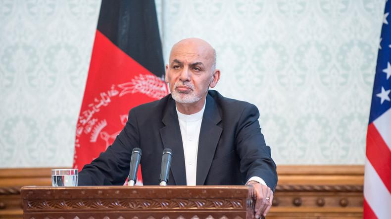 Afghanischer Präsident: Ohne Geld aus den USA kann unsere Armee kein halbes Jahr durchhalten