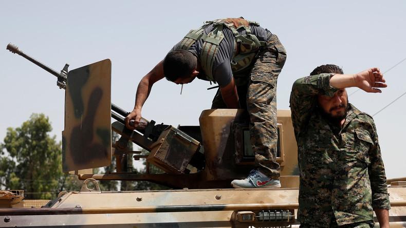 USA planen kurdische  Proxy-Armee im Norden Syriens - Interveniert die Türkei? [Video]