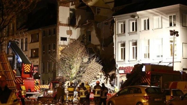 Explosion in Antwerpen:  Drei Wohnhäuser zerstört, 14 Menschen verletzt