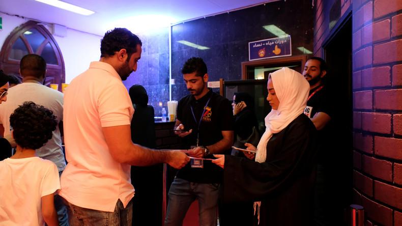 Großes Kino: Erstmals seit 35 Jahren Filmvorführungen in Saudi-Arabien