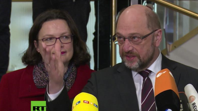 """Dortmund: """"Volksverräter! Schämen Sie sich!"""" - Rechtsextreme Partei """"Die Rechte"""" beschimpft Schulz"""