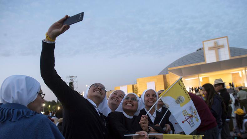 LIVE: Papst Franziskus hält eine Messe im O'Higgins Park in Santiago ab