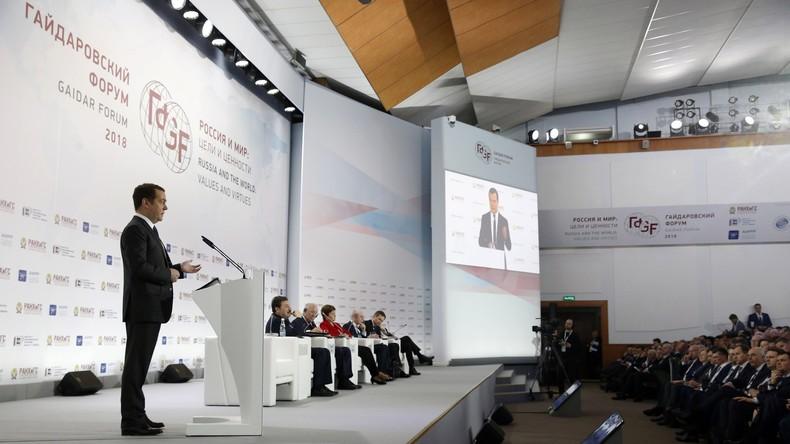 In Moskau beginnt Internationales Gaidar-Wirtschaftsforum
