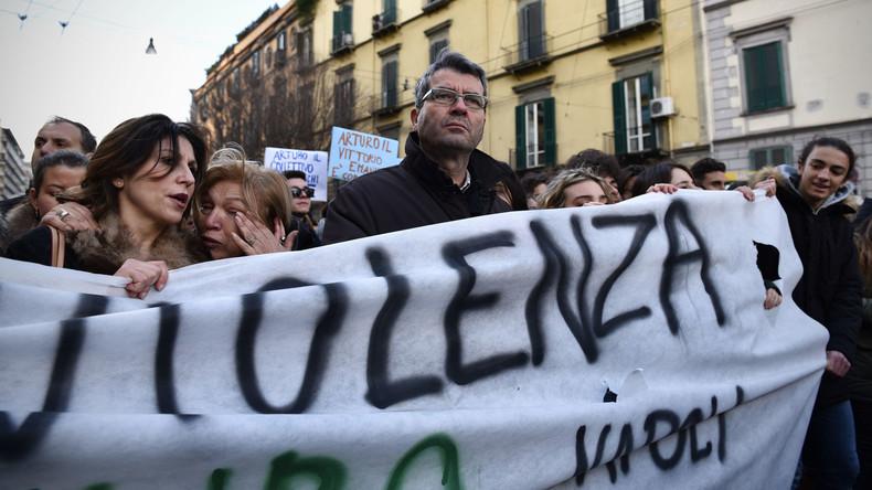 Nach Attacken auf Teenager: Neapel kämpft gegen sogenannte Baby-Gangs