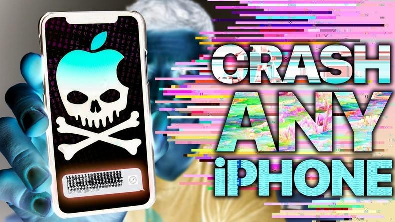 """Neue Gefahr für iOS-Nutzer: """"Textbombe"""" kann alle Apple-Geräte lahmlegen"""