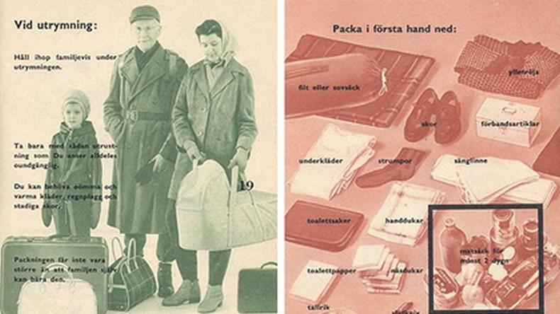 Man weiß nie: Schweden will Einwohner für Kalten Krieg vorbereiten