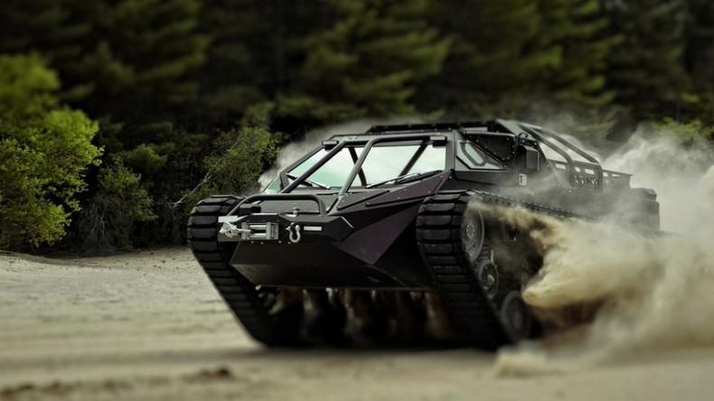 Kriegsgerät für Genießer: Weltweit erster Luxus-Panzer in USA vorgestellt