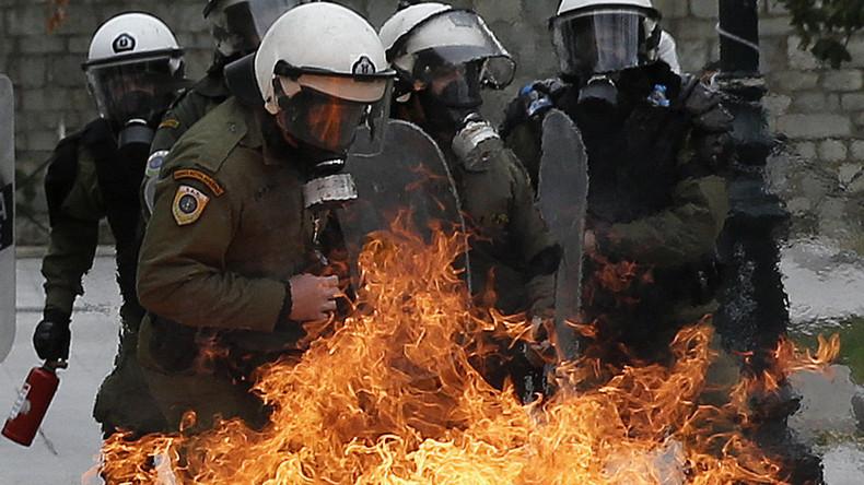 """USA: Linksextreme Gruppe ruft zum """"Tag der Verbrennung von Ordnungshütern"""" auf"""