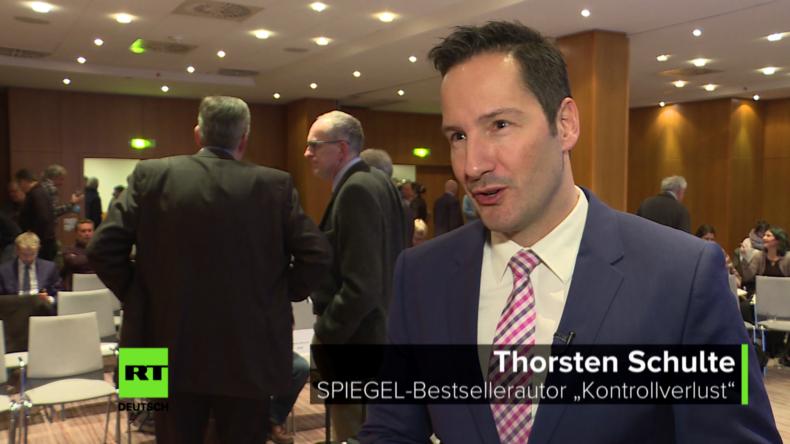 """Finanzexperte Thorsten Schulte: """"Brüsseler Kreise hebeln unser Grundgesetz aus"""" [Video]"""