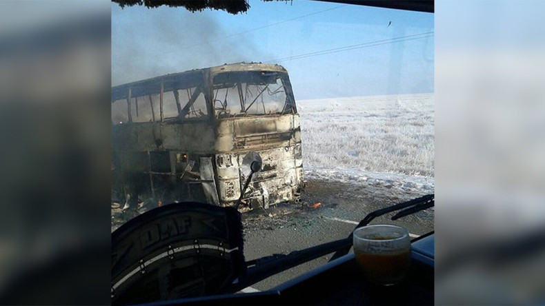 Busunglück in Kasachstan fordert über 50 Menschenleben