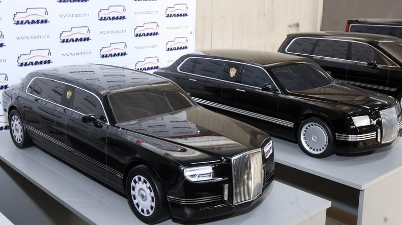Russischer Industrieminister enthüllt Preis von Putins Limousine