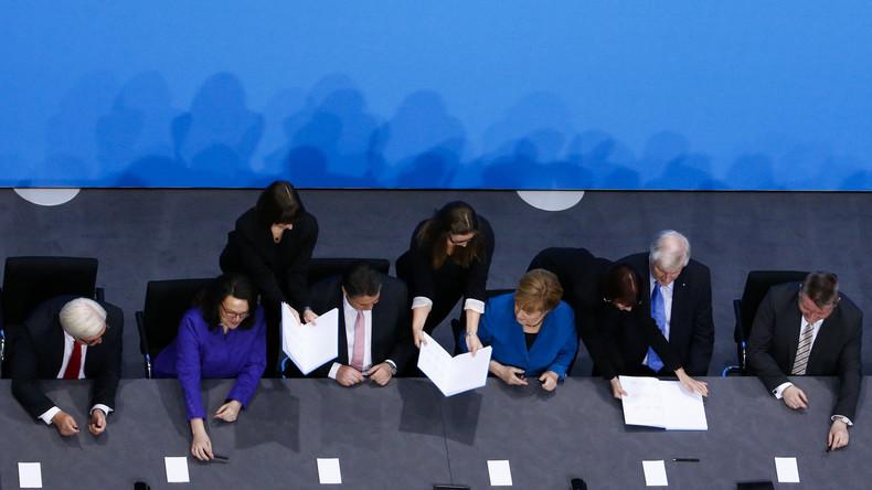 Auch nach Sondierung: Union und SPD streiten über Vorsitz des Parlamentarischen Kontrollgremiums