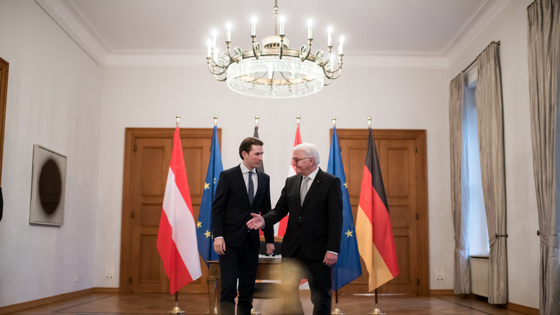 Bundespräsident Steinmeier empfängt Sebastian Kurz: Berlin-Visite neigt sich dem Ende