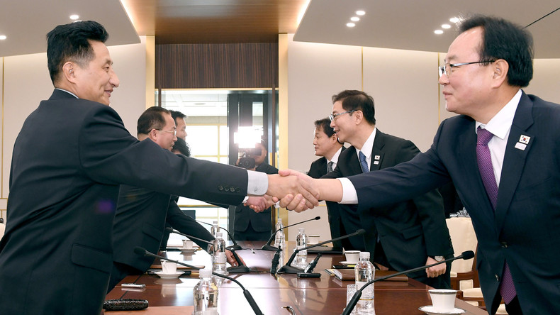 Tauwetter zwischen Nord- und Südkorea - USA wollen Druck trotzdem aufrechterhalten [Video]