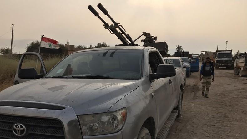 Minister Syrische Luftverteidigung bereit zum Abschuss türkischer Kampfflugzeuge