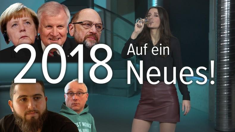 Herzlich Willkommen im Jahr 2018! Alles wird anders (oder auch nicht)