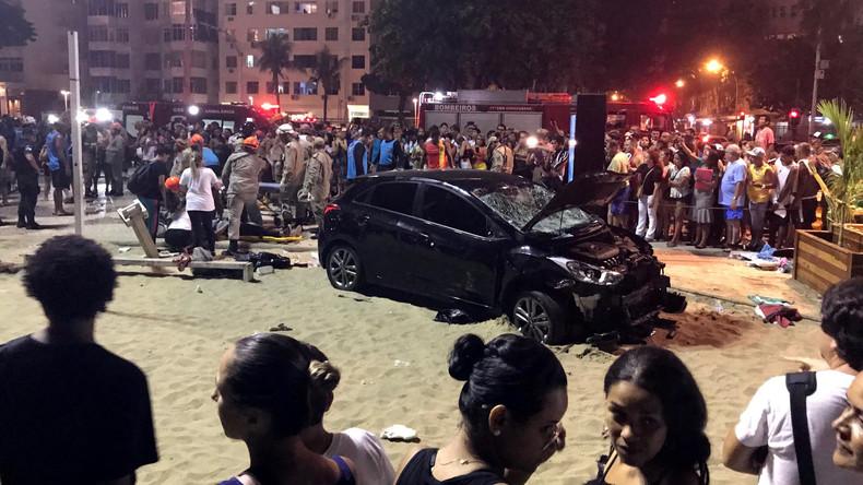 Auto fährt in Menschenmenge in Rio de Janeiro – Baby tot