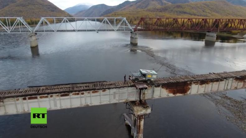 Russland: Würden Sie es wagen, die furchterregendste Brücke der Welt zu überqueren?