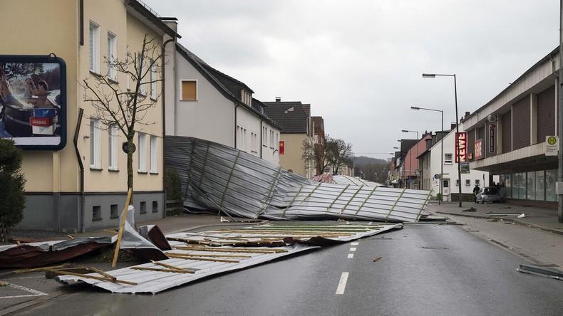 """Versicherer: """"Friederike"""" richtete 500 Millionen Euro Schaden an"""