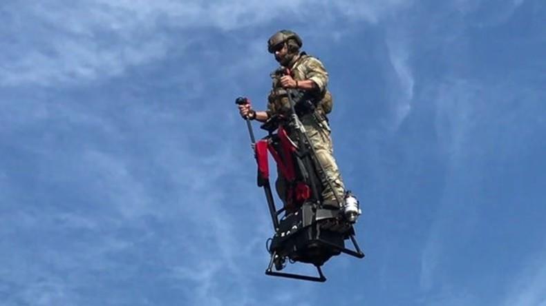 Drei Jahre zu spät - Fliegender Segway in den USA vorgestellt
